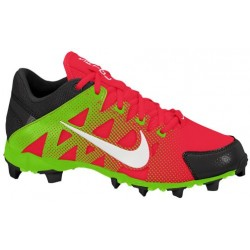 Nike Hyperdiamond Keystone - Women's - Softball - Shoes - Atomic Red/Black/Electric Green/White-sku:84680610