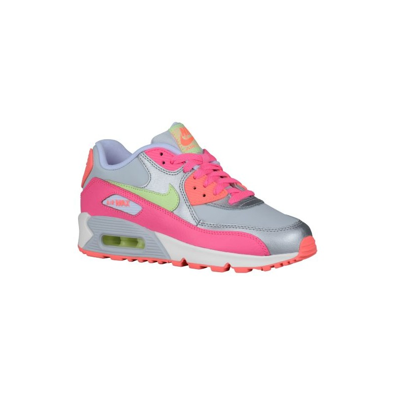 nike air max liquid silver,Nike Air Max 90 Girls' Grade