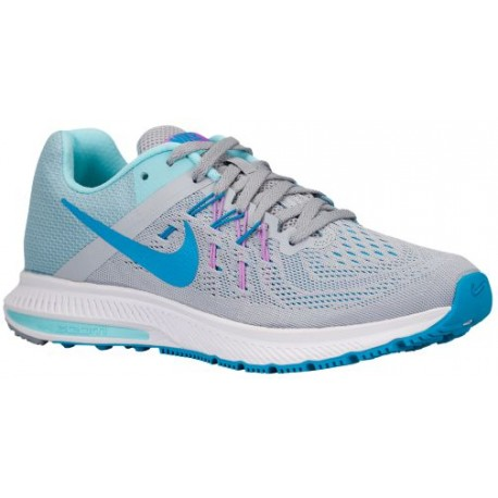 Womens Shoes Nike Zoom Winflo 2 Wolf Grey/Copa/Fuchsia Glow/Blue Lagoon