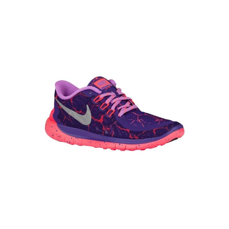 Nike Free 5.0 2015 - Girls' Grade School - Running - Shoes - Court Purple  ...