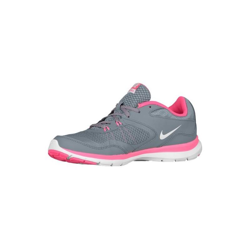 ... Nike Flex Trainer 5 - Women's - Training - Shoes - Cool Grey/Lava Glow  ...