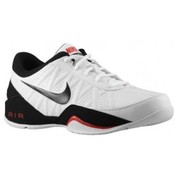 Nike Air Ring Leader Low - Men's - Basketball - Shoes - White/Sport Red/Black-sku:88102100