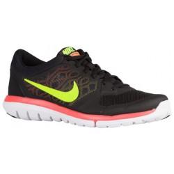 Nike Flex Run 2015 - Men's - Running - Shoes - Black/Laser Orange/Bright Citrus/Volt-sku:09022017