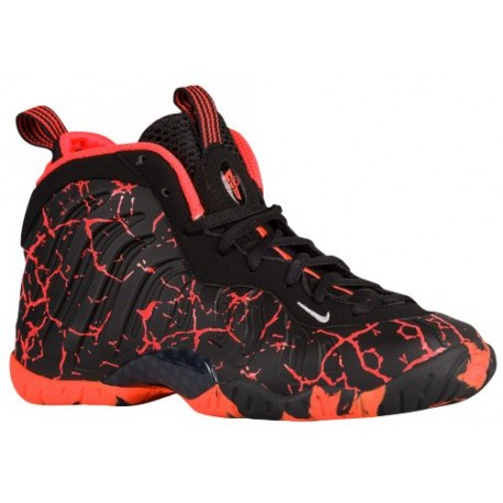 Nike Little Posite One - Boys' Grade School - Basketball - Shoes - Black/