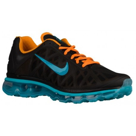 grossiste 5b81d 3abde Nike Air Max 2011 - Men's - Basketball - Shoes - Black/Vivid Orange/Gamma  Blue/Dark Turquoise-sku:45398048