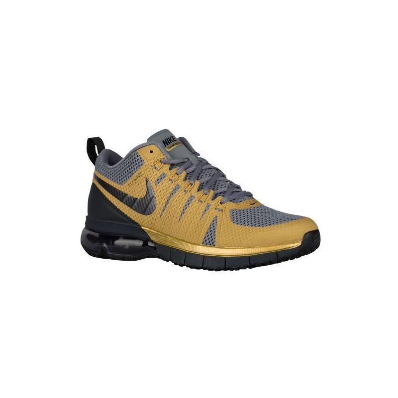 Nike Air Max TR180 - Men's - Training - Shoes - Metallic Gold/Cool Grey ...