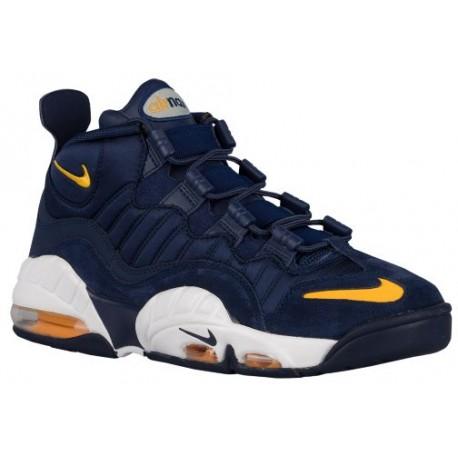 best value 30ca6 f3787 nike air max sensation,Nike Air Max Sensation - Men's - Basketball - Shoes  - Midnight Navy/University Gold/White-sku:05897400
