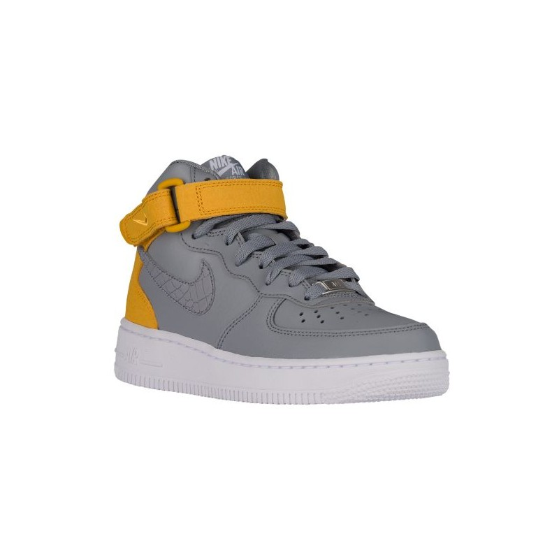 Nike Air Force 1 '07 Mid - Women's - Basketball - Shoes - Stealth/ ...