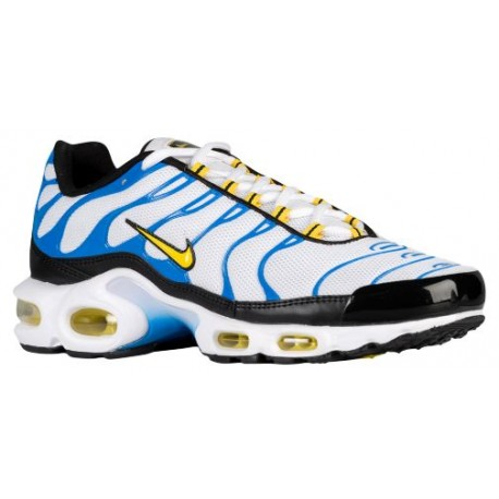 b277bf62ad yellow nike running shoes,Nike Air Max Plus - Men's - Running - Shoes -  White/Tour Yellow/Photo Blue/Black-sku:04133133