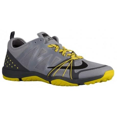 Womens Shoes Nike Free Cross Compete Wolf Grey/Dark Grey/Opti Yellow/Black