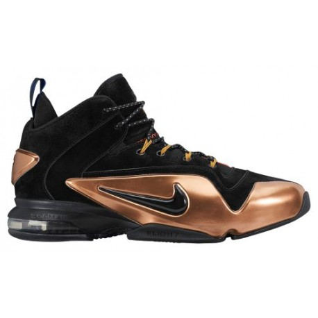 Nike Zoom Penny VI - Men's Basketball - Black/Metallic Copper/White/Black 49629001