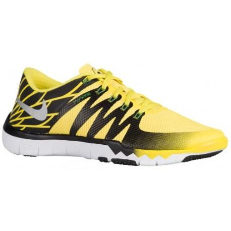 buy online 719d2 8f630 Nike Free Trainer 5.0 V6 - Men's - Training - Shoes - Oregon Ducks - Yellow  Strike/Silver/Kelly Green-sku:23939017