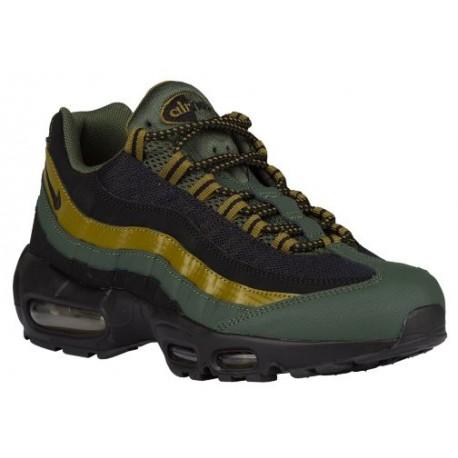 save off 47c78 7a437 Nike Air Max 95 - Men's - Running - Shoes - Carbon Green/Militia  Green/Hyper Orange/Black-sku:49766300