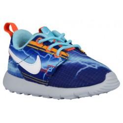 Nike Roshe One - Boys' Toddler - Running - Shoes - Deep Royal Blue/Univ Gold/Electro Orange/White-sku:49358401