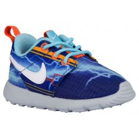 sale retailer a10fc c6fbc Nike Roshe One - Boys' Toddler - Running - Shoes - Deep Royal Blue/Univ  Gold/Electro Orange/White-sku:49358401