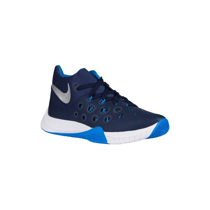 01eea7a5ed2 ... Nike Zoom Hyperquickness 2015 - Men s - Basketball - Shoes - Midnight  Navy Photo Blue ...