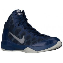 Nike Zoom Without A Doubt - Men's - Basketball - Shoes - Midnight Navy/Metallic Silver/Obsidian-sku:49432402