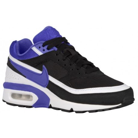 Nike Air Max BW - Women's - Running - Shoes - Black/Persian Violet/White-sku:21956001