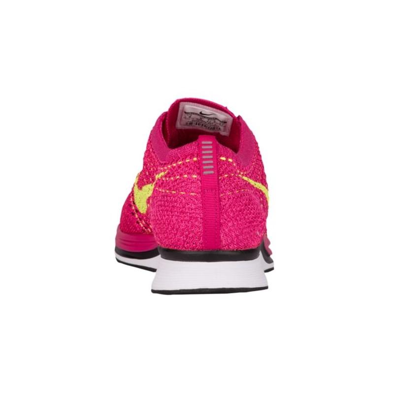 sports shoes 5e05e 38b79 ... Nike Flyknit Racer - Men s - Running - Shoes - Fireberry Volt Pink Flash  ...