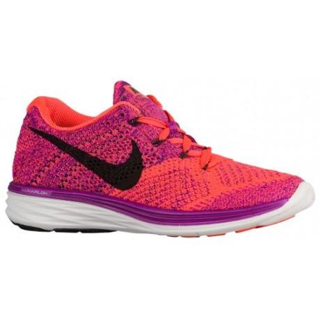 new concept 4e360 14c75 womens purple nike running shoes,Nike Flyknit Lunar 3 - Women s - Running -  Shoes - Vivid Purple Hyper Orange Court Purple Blac