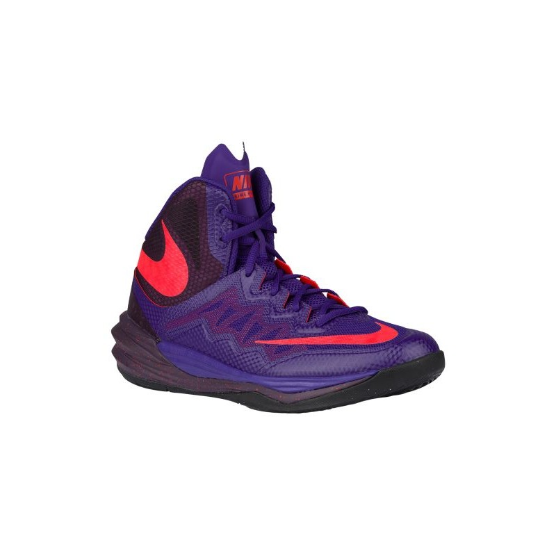 Nike Prime Hype II - Men's - Basketball - Shoes - Court Purple/Bright  Crimson ...