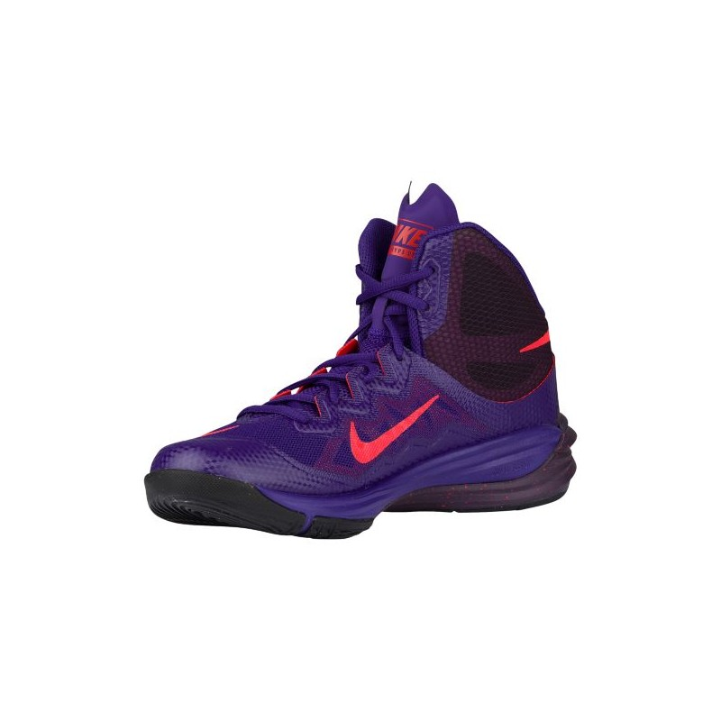 ... Nike Prime Hype II - Men's - Basketball - Shoes - Court Purple/Bright  Crimson ...