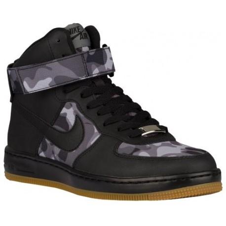 7384001 Womens Nike AF1 Ultra Force Mid - Black/Black/Wolf Grey