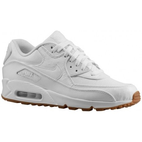 huge discount c418e 70b04 Nike Air Max 90 - Men's - Running - Shoes - White/Gum Light  Brown/White-sku:05012111