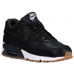 Nike Air Max 90 - Women's - Running - Shoes - Black/Black/White-sku:43817006