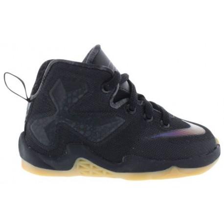 Nike LeBron XIII - Boys' Toddler - Basketball - Shoes - LeBron James - Black/Black/Anthracite-sku:08711001