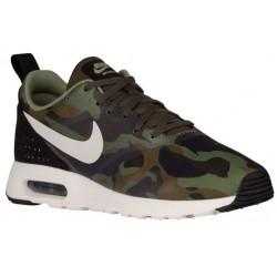 Nike Air Max Tavas - Men's - Running - Shoes - Dark Loden/Sail/Alligator/Metallic Green-sku:18895301