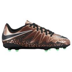 Nike Hypervenom Phelon 2 FG - Girls' Grade School - Soccer - Shoes - Metallic Red Bronze/Green Glow/Black-sku:44943903