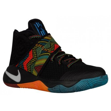 Nike Kyrie 2 - Boys' Grade School - Basketball - Shoes - Kyrie Irving - Black/Multi/Multi-sku:35944099