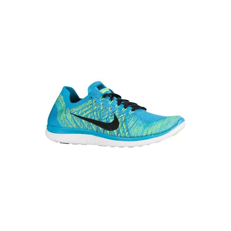 Nike Free 4.0 Flyknit 2015 - Men's - Running - Shoes - Blue Lagoon/Glacier  ...
