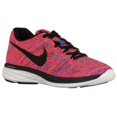 official photos b86a5 c9aea orange and blue nike running shoes,Nike Flyknit Lunar 3 - Women s - Running  - Shoes - Hyper Orange Racer Blue University Blue B