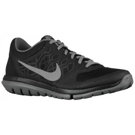 Nike Flex Run 2015 - Men's - Running - Shoes - Black/Dark Grey/