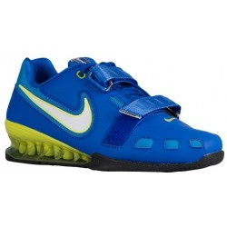 Nike Romaleos II Power Lifting - Men's - Training - Shoes - Hyper Cobalt/White/Electric Yellow-sku:76927417