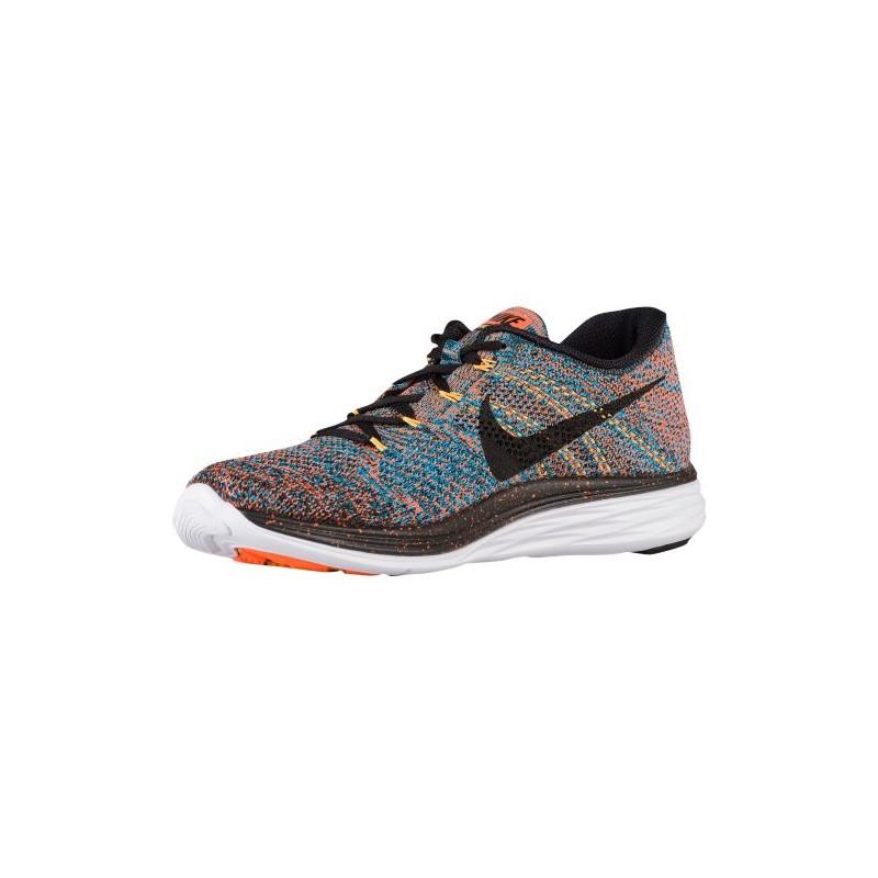 09e79bd71a1b Nike Flyknit Lunar 3 - Mens - Running - Shoes - Total OrangeBlue Total  Orange Black Laser Orange Blue Lagoon ...