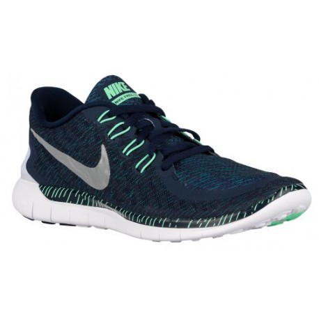 Nike Free 5.0 2015 - Men's - Running - Shoes - Obsidian/Green Glow/