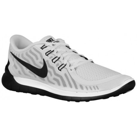 Nike Free 5.0 2015 - Men's - Running - Shoes - White/Black-sku:24382100