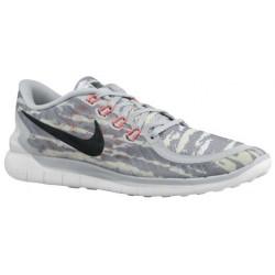 Nike Free 5.0 2015 - Men's - Running - Shoes - Pure Platinum/Hot Lava/Black-sku:49592002