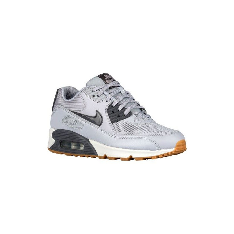buy popular e752e c5cef nike air max 90 jacquard wolf grey,Nike Air Max 90 - Women s - Running -  Shoes - Wolf Grey Dark Grey Pure Platinum-sku 16730024