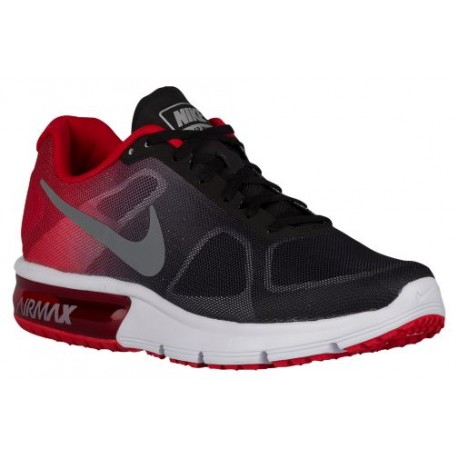 32e1512cbe cool cheap nike shoes,Nike Air Max Sequent - Men's - Running - Shoes -  Black/University Red/Cool Grey/Metallic Cool Grey-sku:19