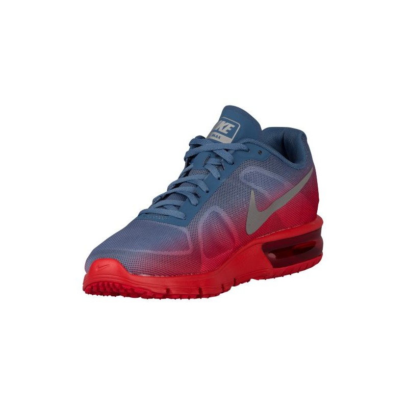 ... Nike Air Max Sequent - Men's - Running - Shoes - University Red/Ocean  Fog ...