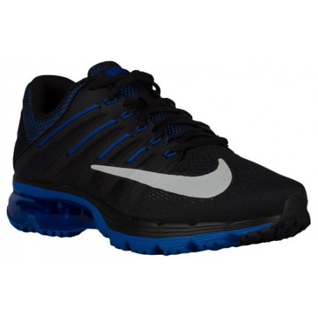 Nike Air Max Excellerate 4 Mens Black/Game Royal/Deep Royal/White Running Shoes V18915