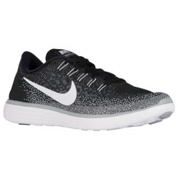 Nike Free RN Distance - Women's - Running - Shoes - Black/White/Grey-sku:27116010