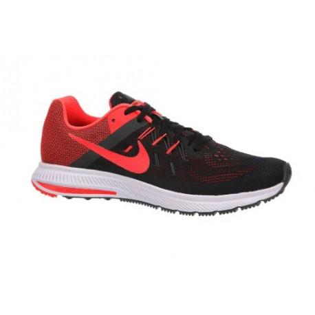 Nike Zoom Winflo 2 - Men's - Running - Shoes - Black/Anthracite/White/Bright Crimson-sku:7276006
