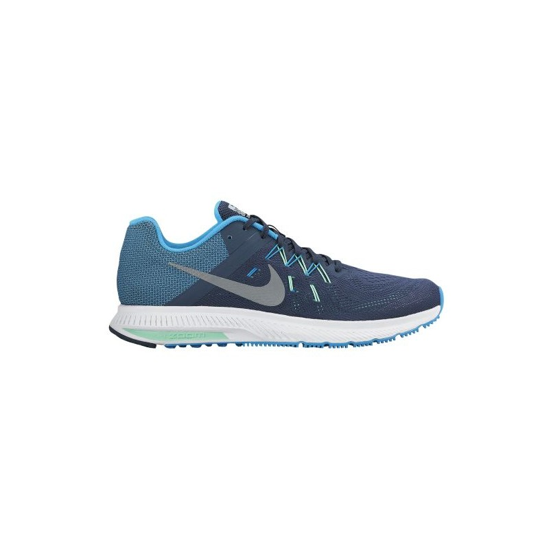 22e0ba0b31960 Nike Zoom Winflo 2 Flash - Men s - Running - Shoes - Squadron Blue Blue ...