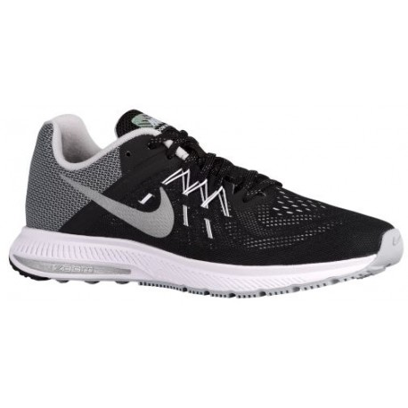 Nike Zoom Winflo 2 Flash - Men's - Running - Shoes - Black/White/Reflective Silver-sku:07277002