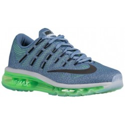 Nike Air Max 2016 - Women's - Running - Shoes - Ocean Fog/Voltage Green/Blue Grey/Black-sku:06772403